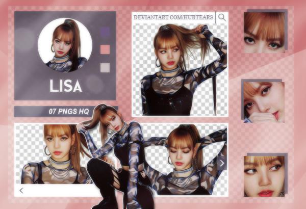 PNG PACK: Lisa (BLACKPINK) #01 by hurtears on DeviantArt