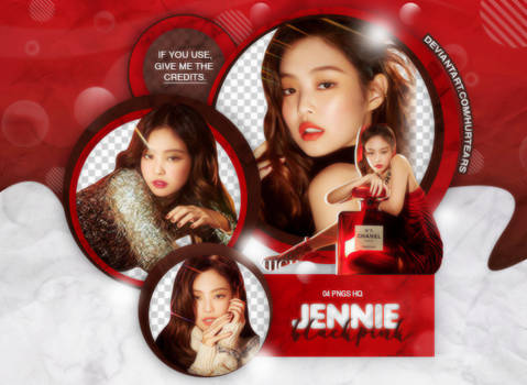 PNG PACK: Jennie (BLACKPINK) #01 by hurtears