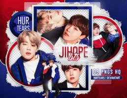 PNG PACK: JIMIN X J-HOPE (BTS) #01 by hurtears