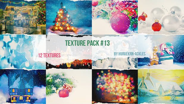 Christmas Theme Texture Pack