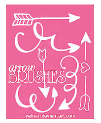 Arrow brushes | Photoshop ABR |