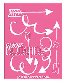 Arrow brushes | Photoshop ABR | by Yahi-m