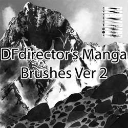 Free Manga Brushes Ver 2 (CS5+)