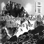Free Manga Brushes Ver 2 (CS5+) by DFdirector
