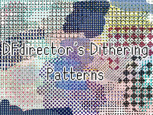 23 Free Dithering patterns Ver 2 (PAT + PNGs)