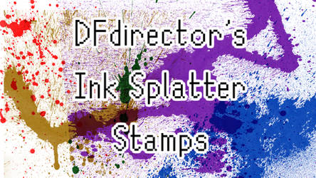 DFdirector's Ink Splatters Ver 1