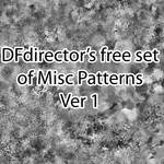 25 Free Misc Patterns Ver 1 + PNGs by DFdirector
