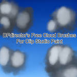 DFdirector Clouds Set 1 Free (CSP Edition) by DFdirector