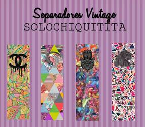 Separadores de libros {Sorpresita 5/20} by solochiquitita