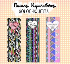 Separadores {Sorpresita 7/20} by solochiquitita