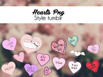 Hearts Tumblr Style{Sorpresita 10/20} by solochiquitita