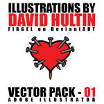 David Hultin - Vector Pack 01 by FirGeL
