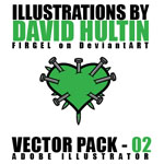 David Hultin - Vector Pack 02 by FirGeL