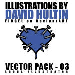 David Hultin Vector Pack - 03 by FirGeL