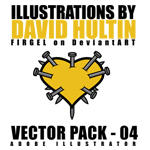 David Hultin - Vector Pack 04 by FirGeL