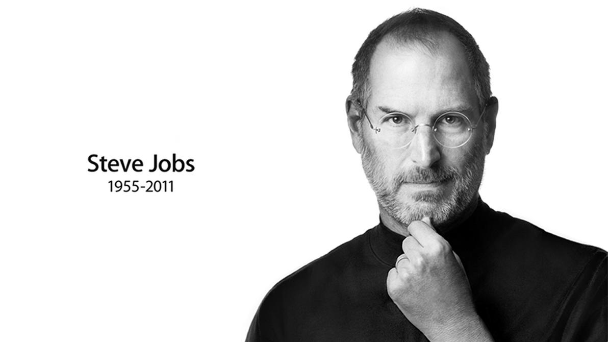 'Steve Jobs Memorial Wallpaper' by TheFlyestNerd | Deviantart.com