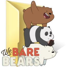 We Bare Bears Folder Icon By Animaniacc On Deviantart