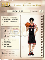 +OPHS+ Portgas D. Ace Chara Profile