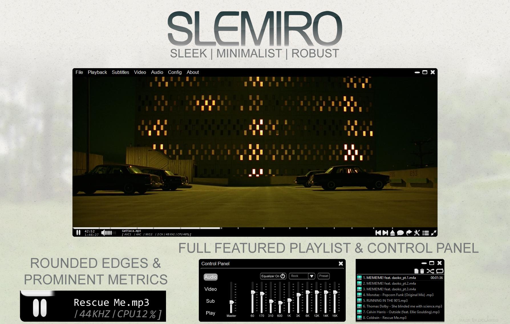 Slemiro for Potplayer by oclambo