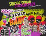 Suicide Squad Stickers