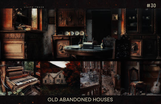 Old Abandoned Houses Texture Pack ll #30