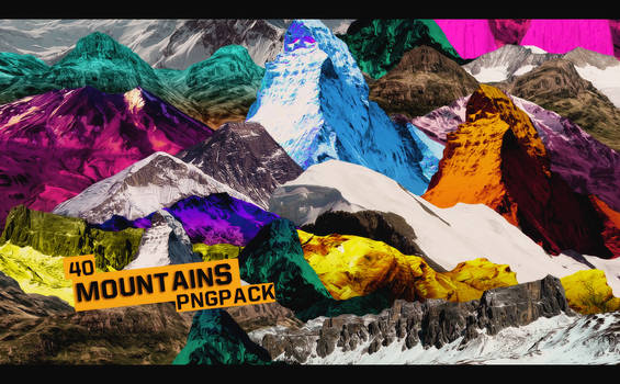Mountains Pngpack #40