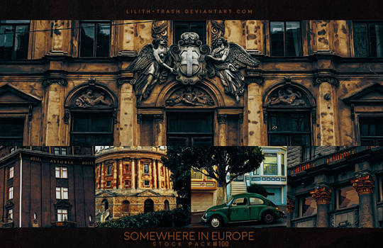 Somewhere in Europe  ( Stock Pack )