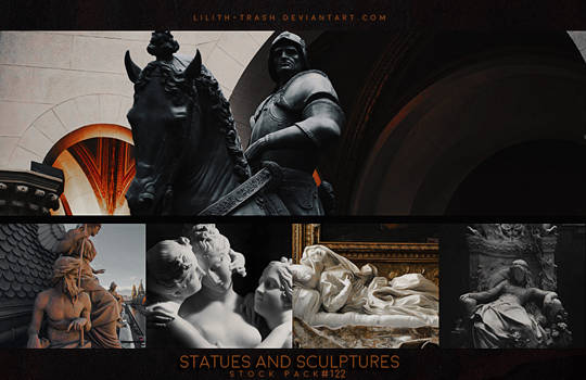 Statues and Sculptures ( Stock Pack ) #122