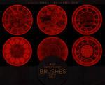 Clock Faces Brushes #5