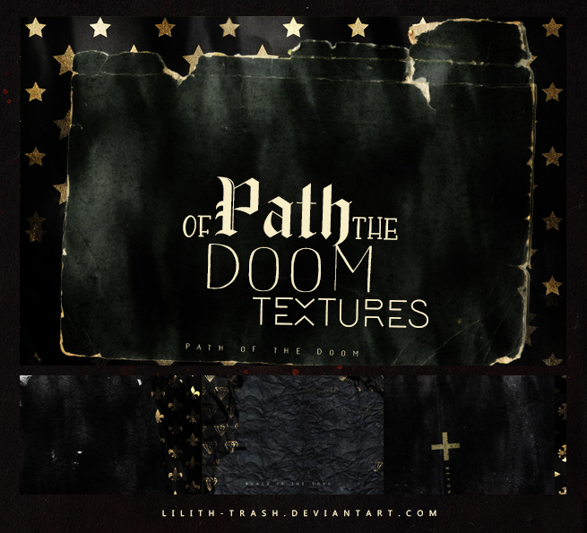 Path Of The Doom Textures by LilithDemoness