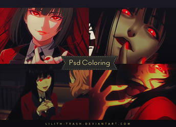 Psd Coloring #38 by LilithDemoness