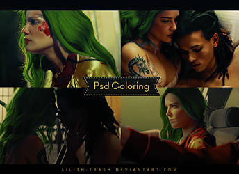 Psd Coloring #42 by LilithDemoness