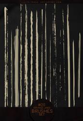 Grunge Lines #20