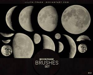 Moon Phase Brushes #13
