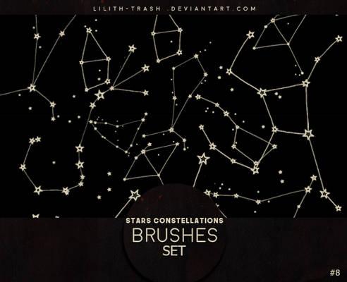 Stars Constellations Brushes #8