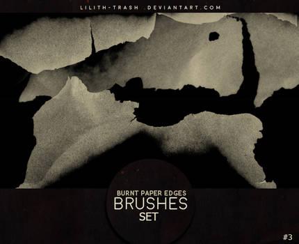 Burnt Paper Edges Brushes 3