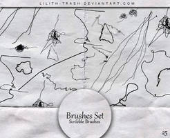 Scribble Brushes #25