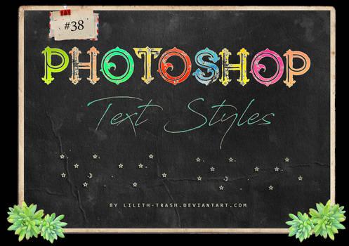 Text Styles #3