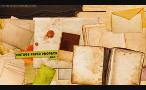 Vintage Paper Pngpack #60