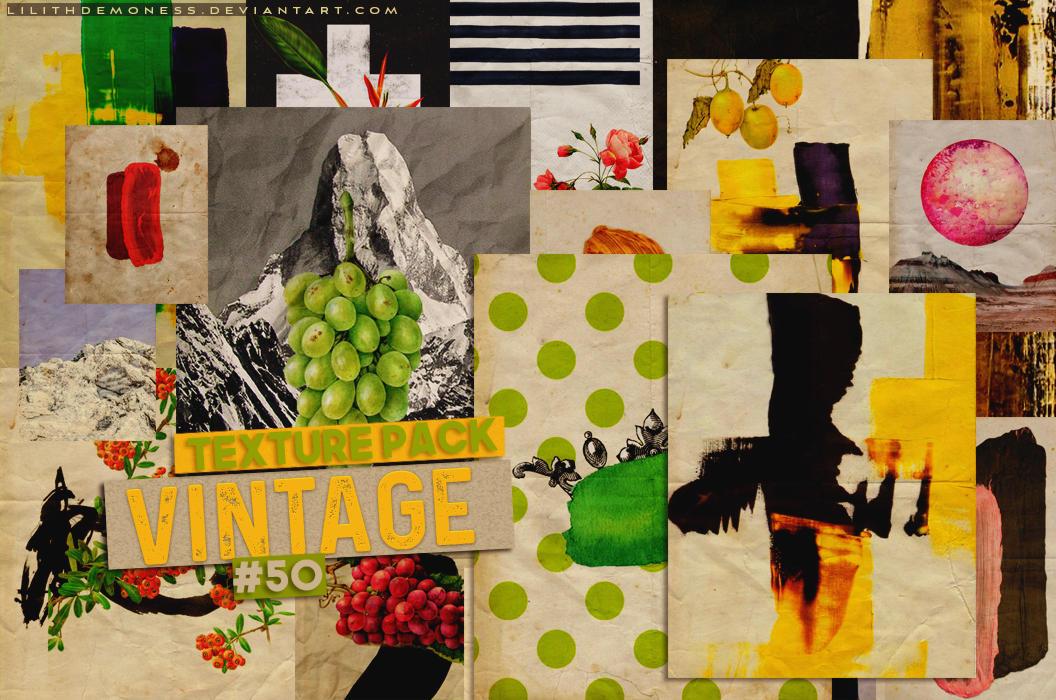 Vintage Texture Pack 50 By Lilithdemoness On Deviantart