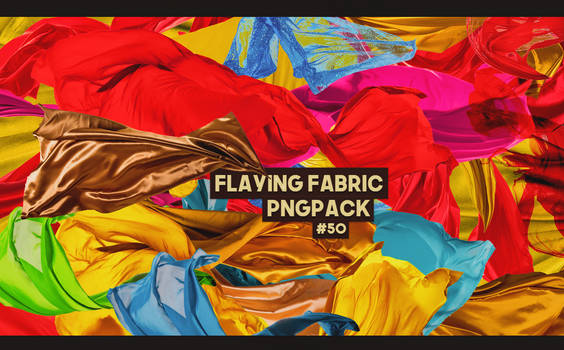Flying Fabric Pngpack #50