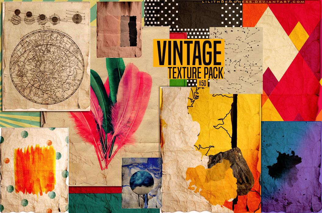 2 Vintage Texture Pack 50 By Lilithdemoness On Deviantart
