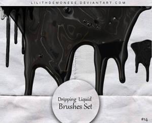 Dripping  Liquid Brushes