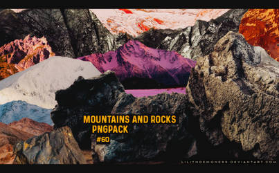 Mountains And Rocks Pngpack #60