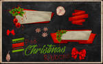 Psd Christmas Ribbons