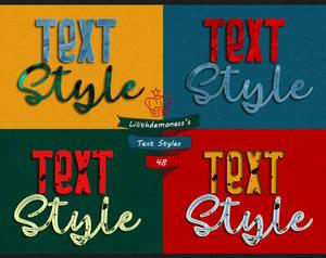 Text Styles  #48
