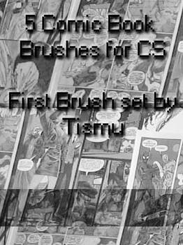 Comic Book Brushes