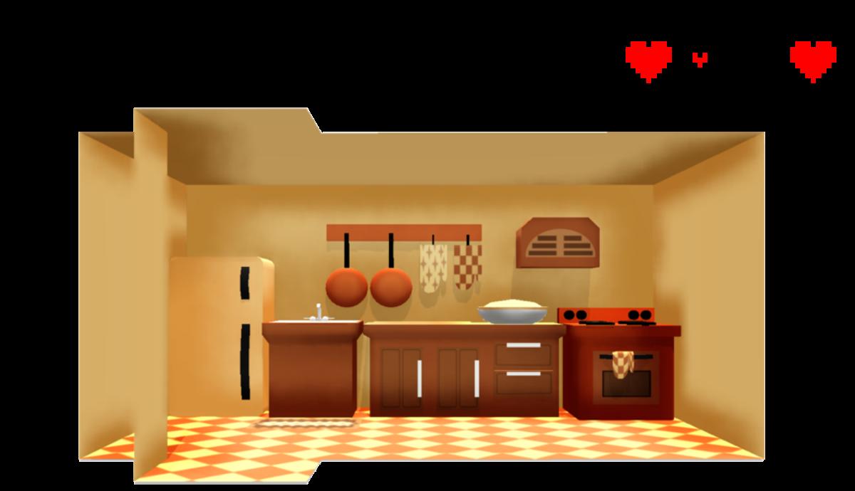Undertale Toriel's Kitchen ~DL!~ by sakuraD28