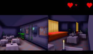 Undertale MTT resort restaurant ~DL!~