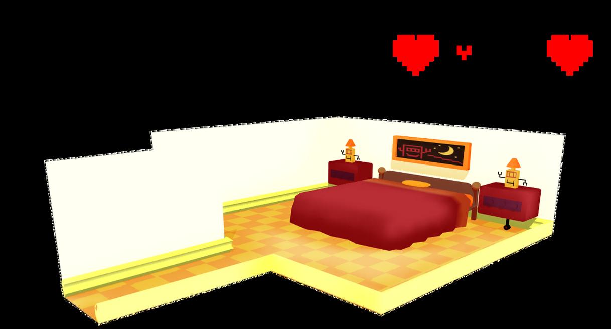 Undertale MTT Resort hotel room ~DL!~ by sakuraD28
